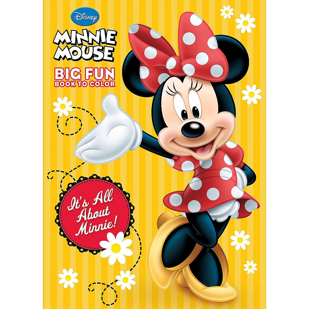 Minnie Mouse Coloring Activity Book Party City Canada Minnie Mickey Mouse Halloween Book Birthday Parties