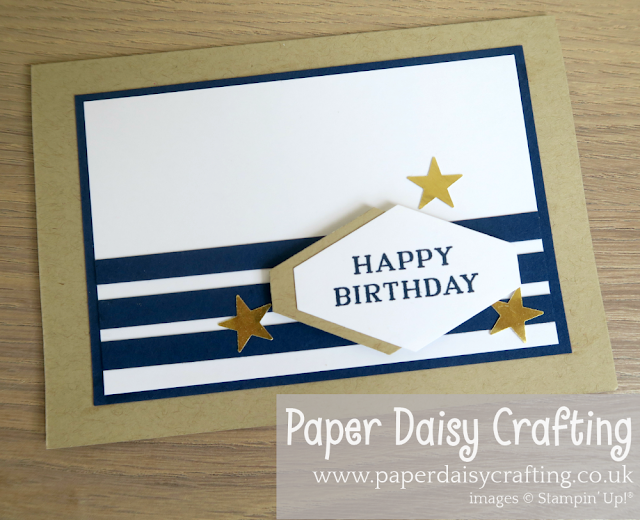 Paper Daisy Crafting Quick And Easy Male Birthday Card Birthday Cards For Men Birthday Cards For Boys Simple Birthday Cards