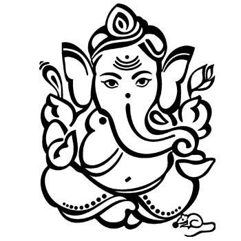 Ganesha Line Drawing At Getdrawings Ganesh Ji Images Ganesh Images