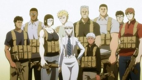 Jormungand Perfect Order Review Forevergeek Best Animes Ever Anime Comics Anime Military