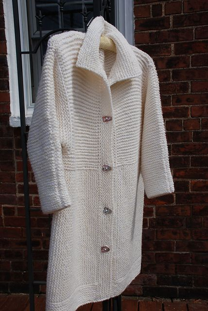 Einstein Coat Pattern By Sally Melville Too Much To Knit