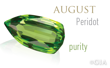 celebrates birthstones peridot the gemstone born