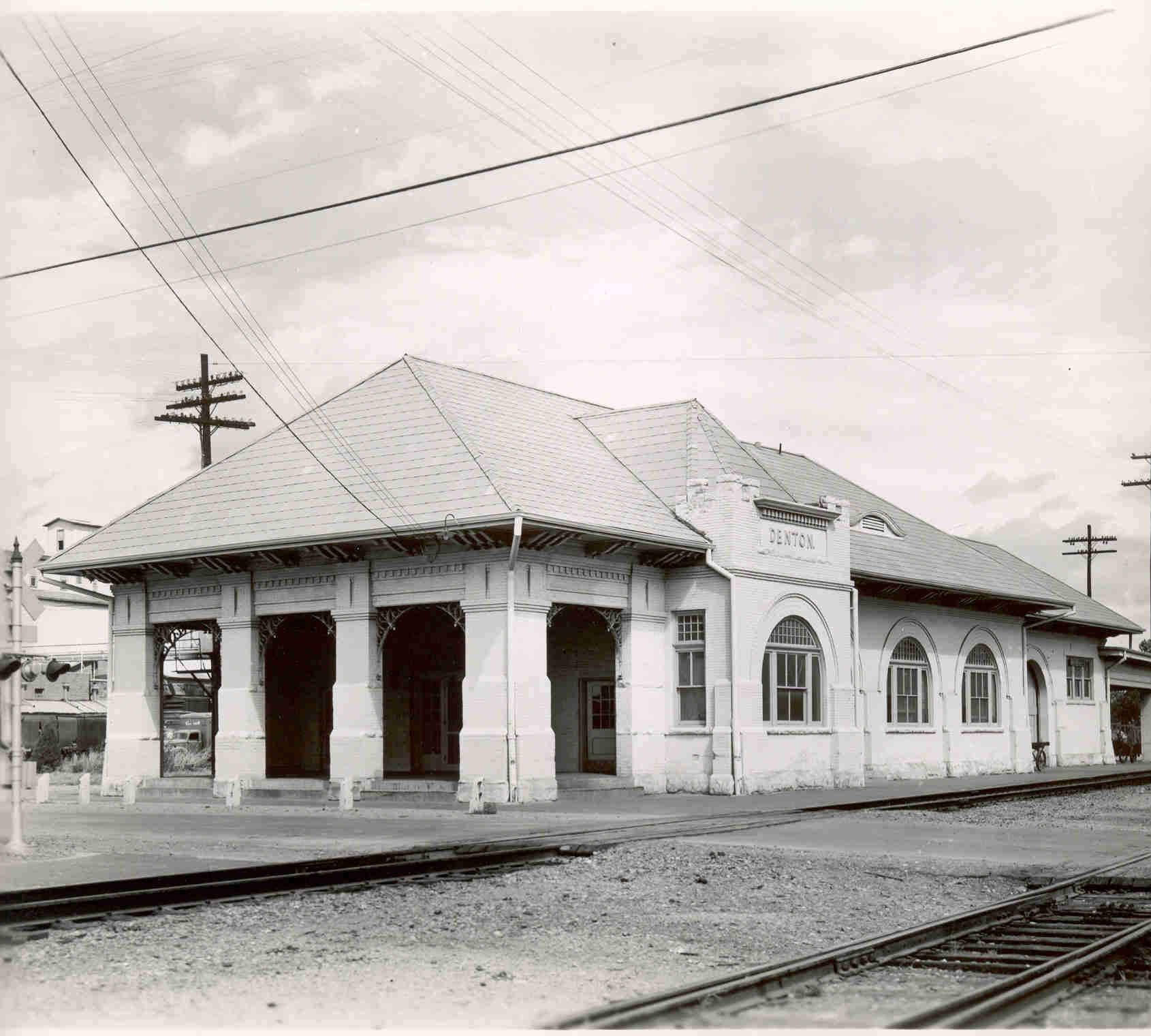 Old Depot in Denton TX and our history with trains Story at