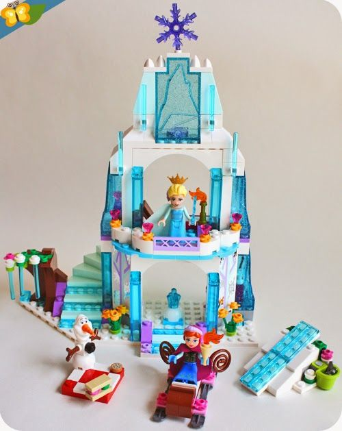 D'elsa Glace Par De Palais Reine Le Lego® Disney La Neiges Des N0PXk8wOn
