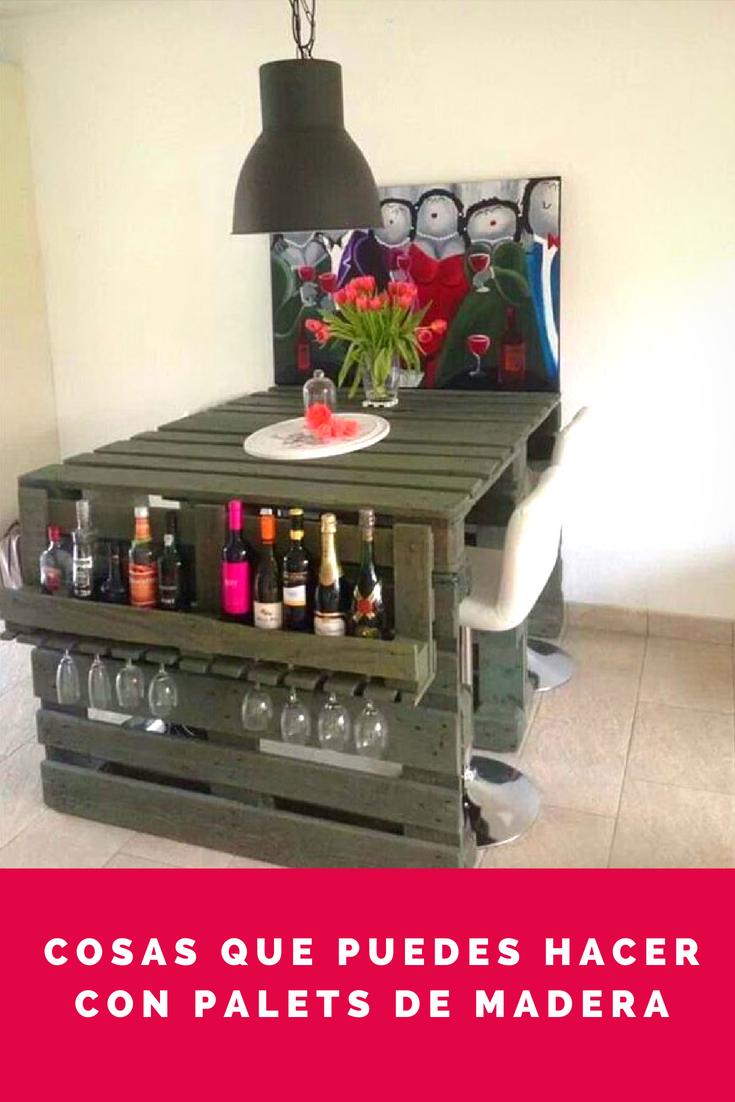 Cosas con palets ideas de muebles con palets muebles con for Sillones de madera reciclada