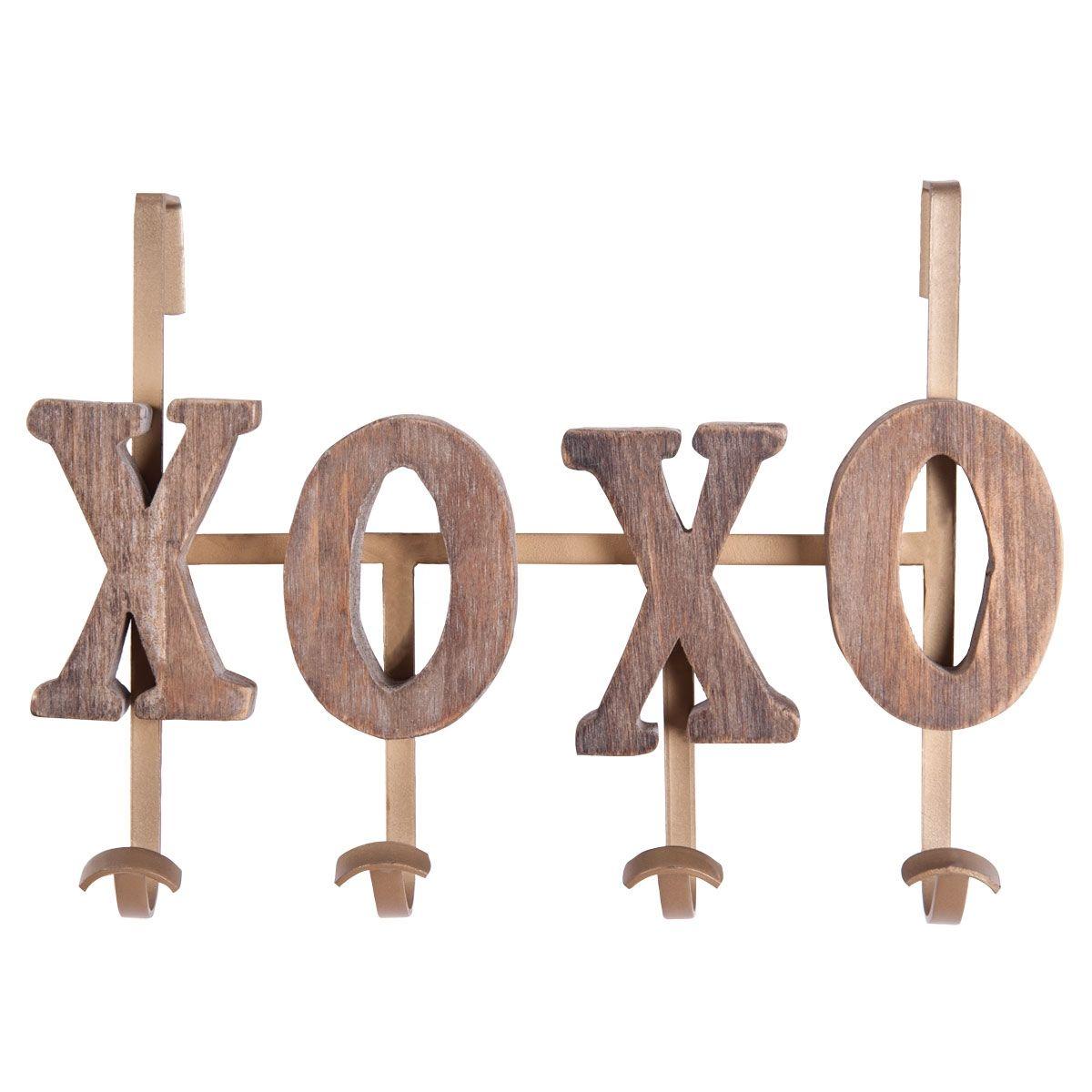 Foreside home u garden xoxo coat hook trend alert wood metal