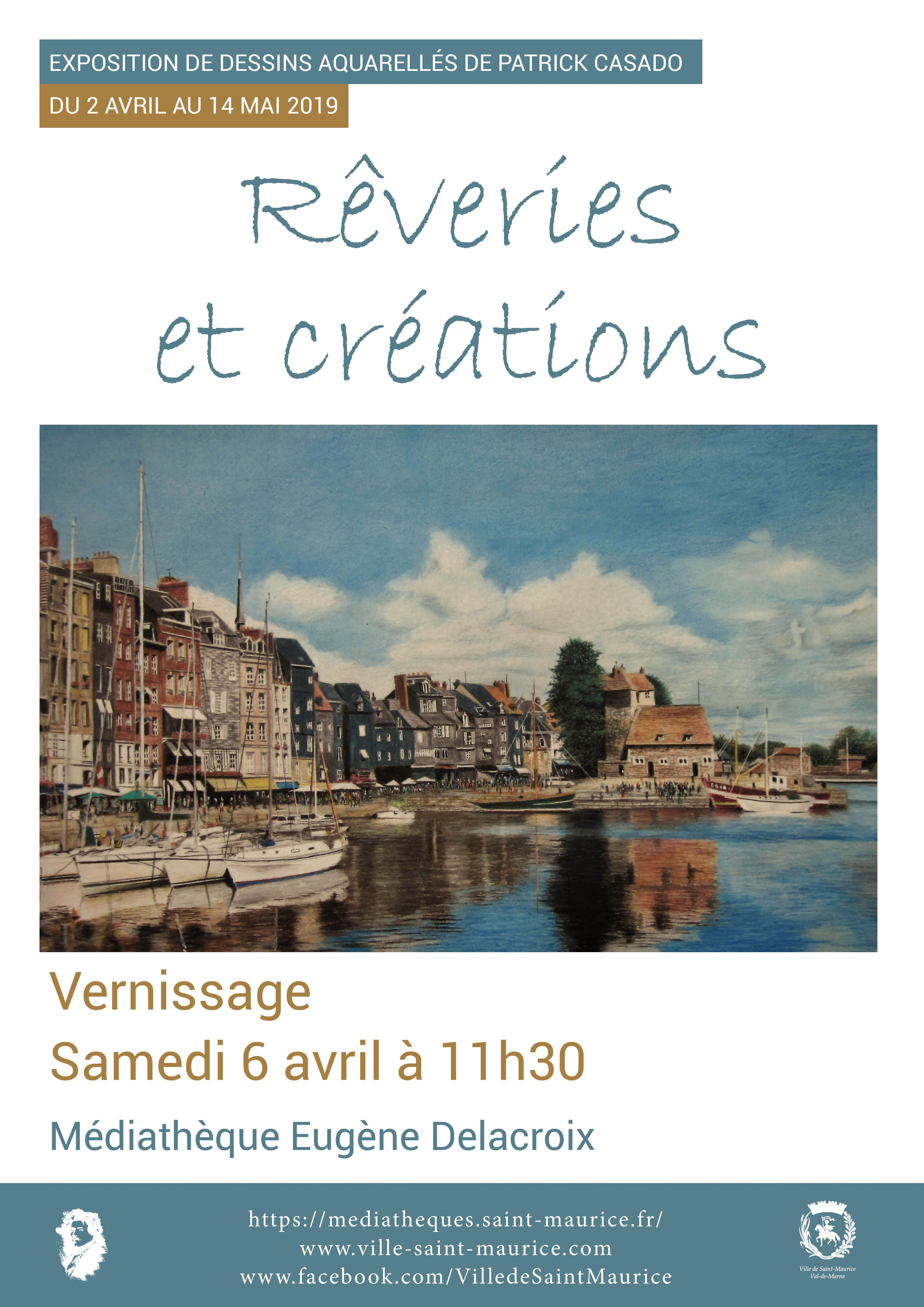 Vernissage Le Samedi 6 Avril A 11h30 Exposition Du 2 Avril Au 14