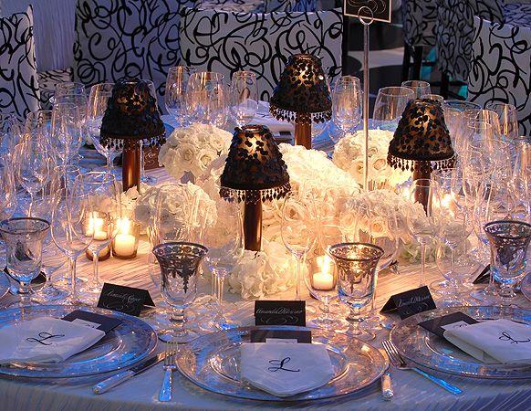 Lampshade Centerpiece Preston Bailey Event Ideas