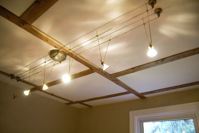 Cool Cable Track Bat Lighting