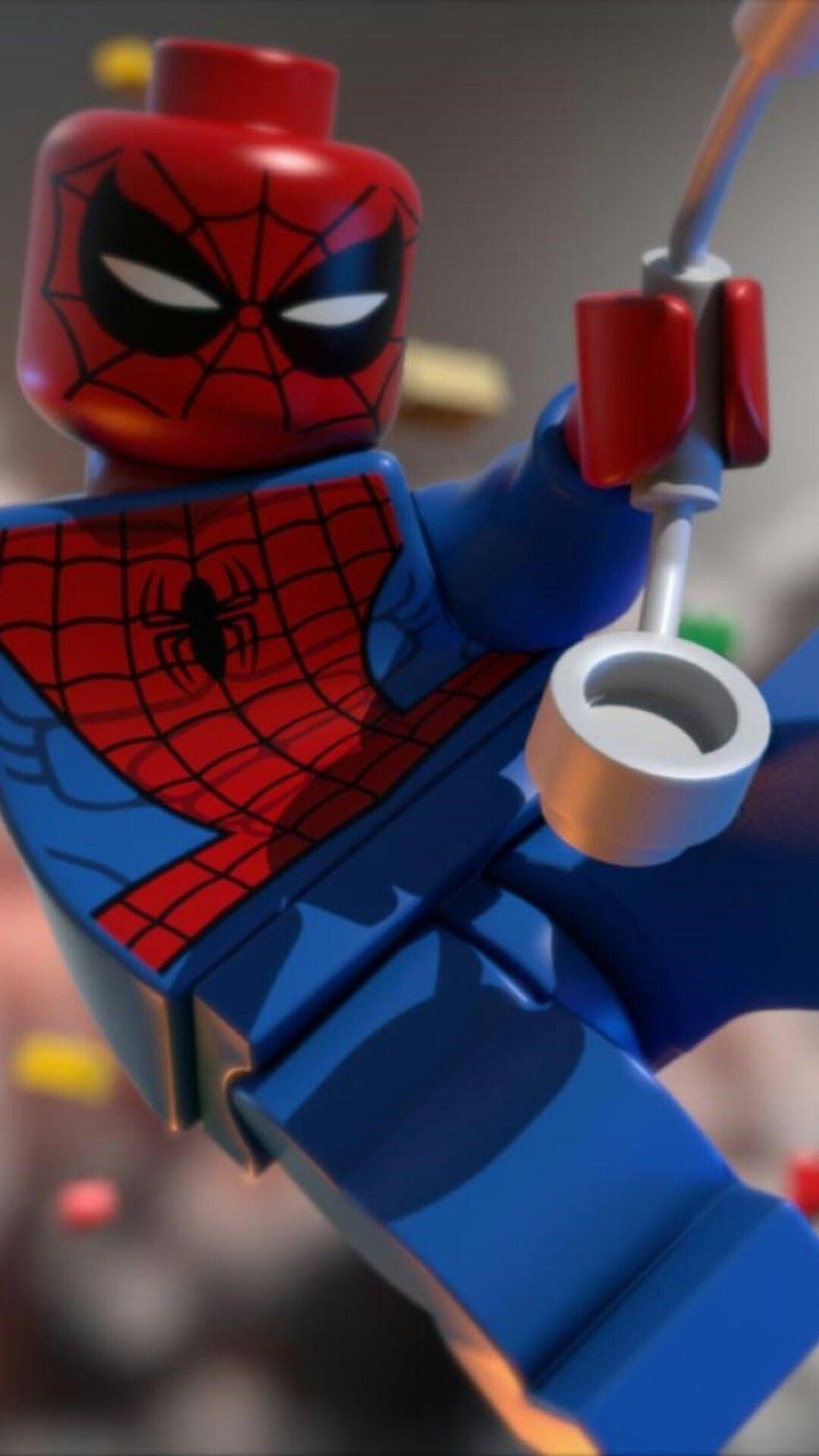 Spider Man Minifigura Lego