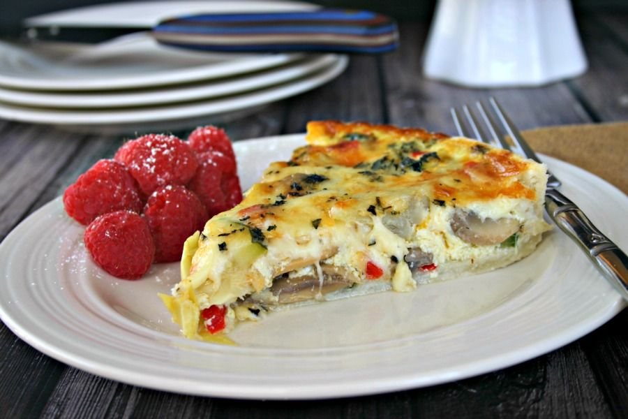 California quiche recipe recipes to try one day pinterest california quiche life love and good food forumfinder Image collections