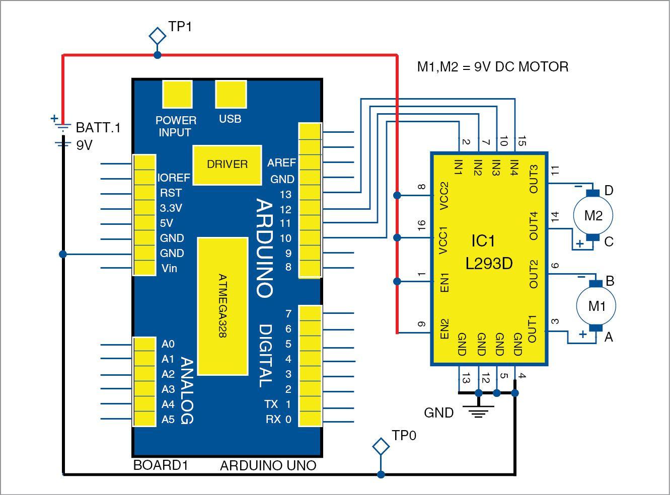 Movement Sensor Circuit Diagram