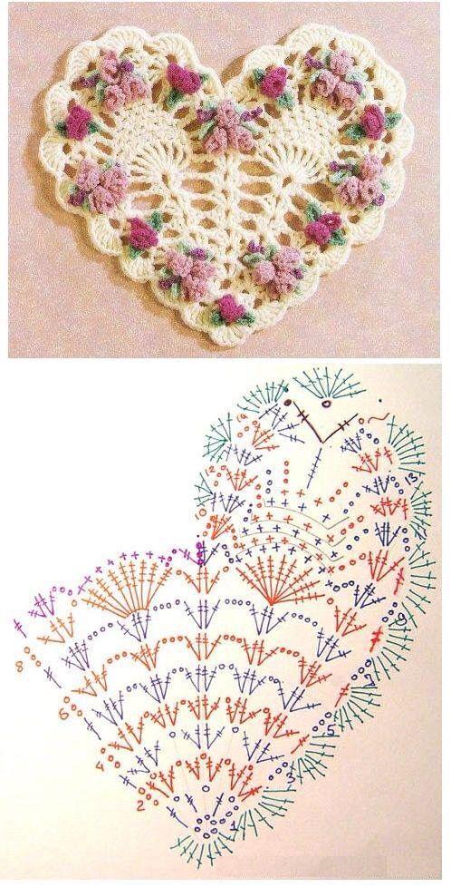 Ganchillo | crochet decoraciones | Pinterest | Ganchillo, Tejido y ...