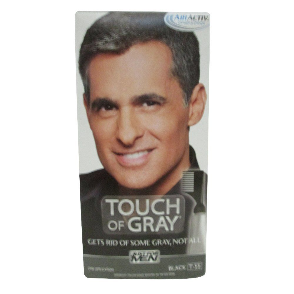 Just for men just for men touch of gray black application pack