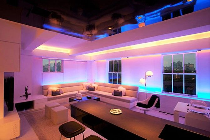 Using the #LED #lighting #strips you can achieve that luxurious look ...