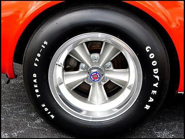 1969 Chevrolet Corvette With American Racing T70 Torque