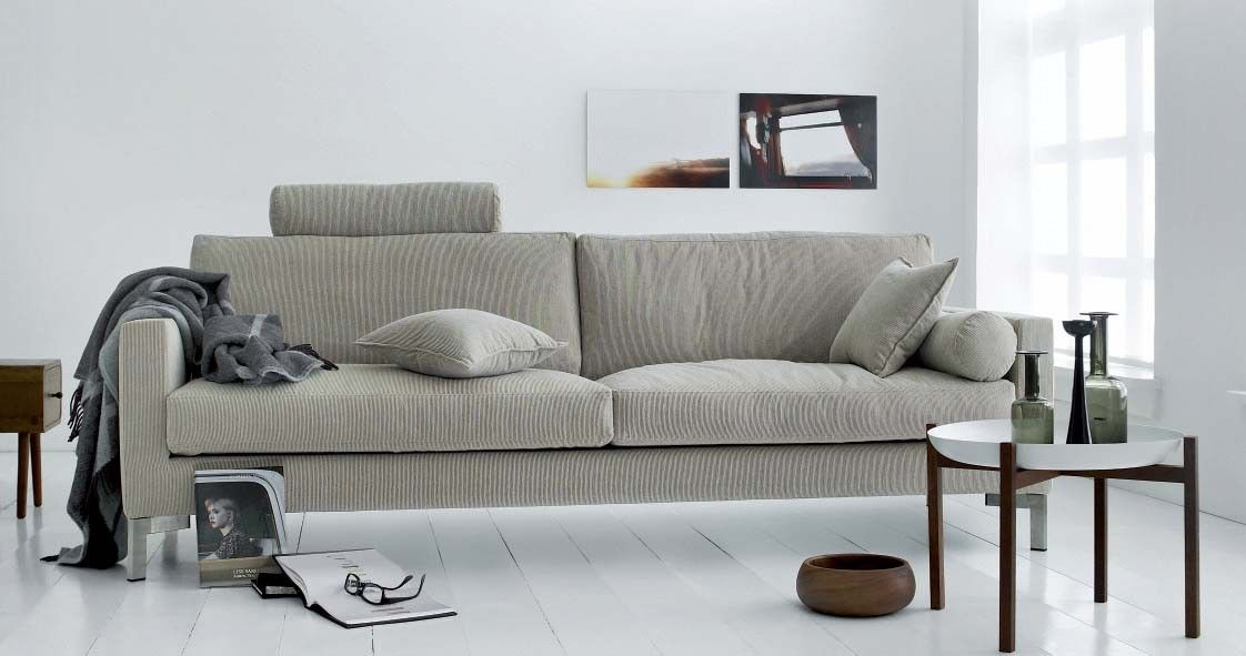 slice sofa by eilersen denmark is available with fabric or leather upholstery at kcc living berkeley - Berkeley Modern Furniture