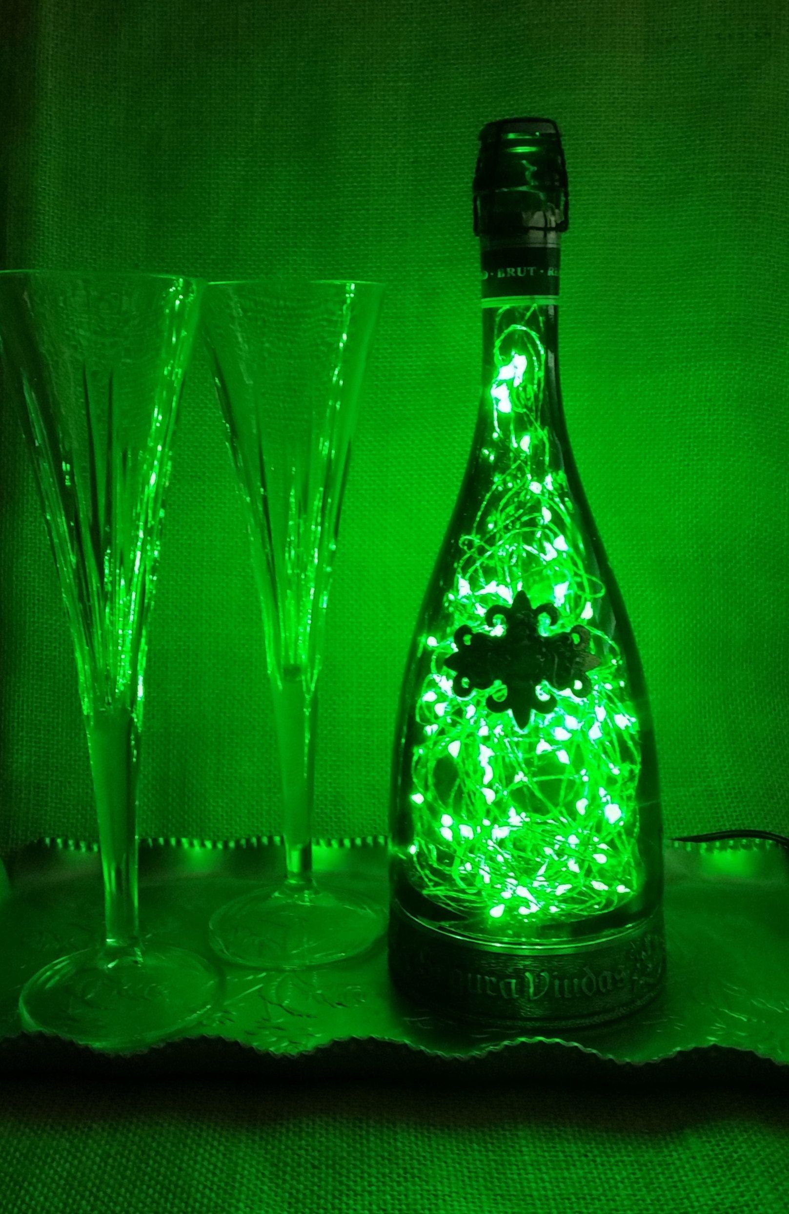 Champagne Bottle Fairy Lights Led Lamp Starry Spanish Brut