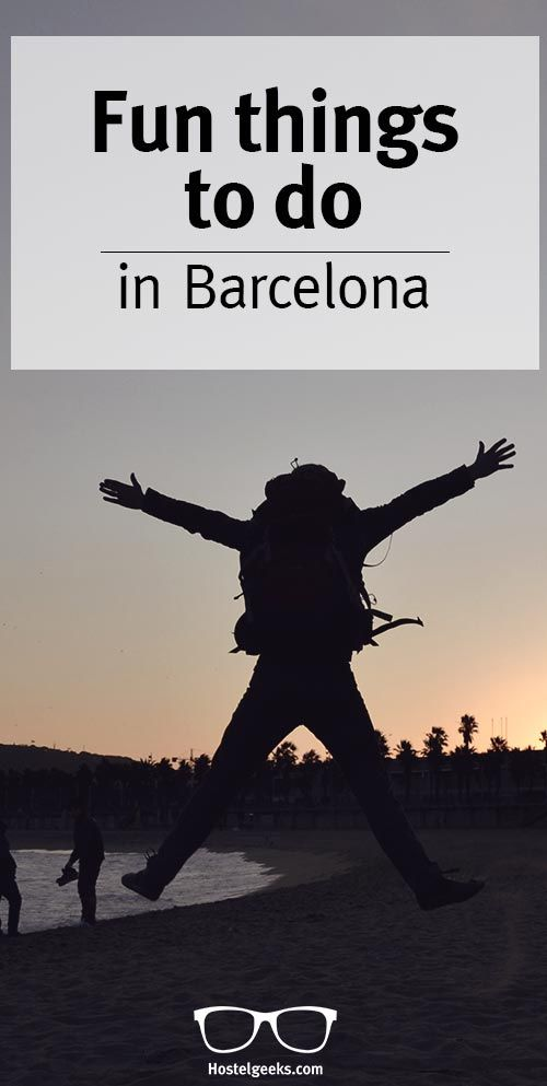 Looking for some fun in Barcela? We collected a list with more than 20 fun things to do in Barcelona. Check them out at http://hostelgeeks.com/23-fun-things-to-do-barcelona/