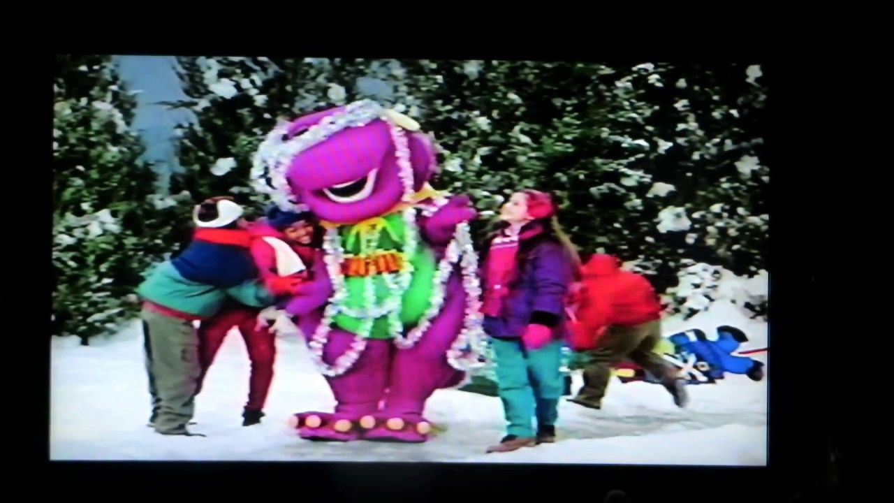 Part One, Barney\'s Night Before Christmas, 1999 | Barney Home Videos ...