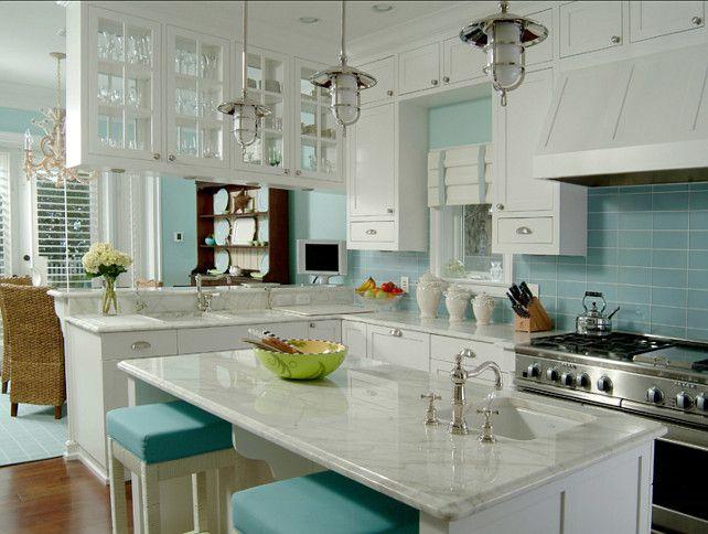 Coastal Kitchen Ideas turquoise kitchen. great turquoise coastal kitchen. turquoise