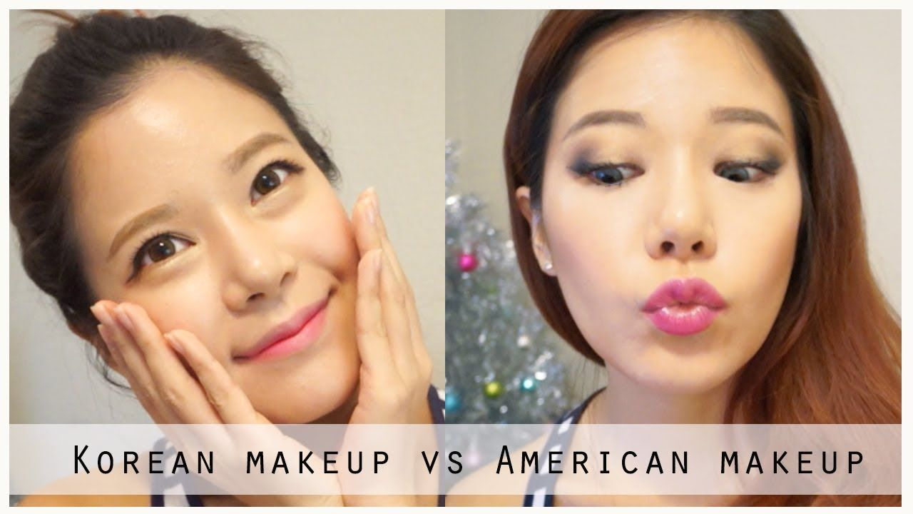 Difference Between Korean And American Make Up Really