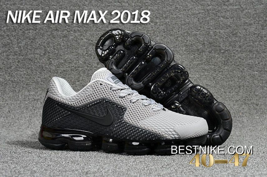 2018 Nike Air Max Day 2018 Grey Black New Style in 2019
