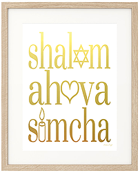 Shalom, Ahava U0026 Simcha // Peace, Love U0026 Joy · Jewish QuotesShabbat ...