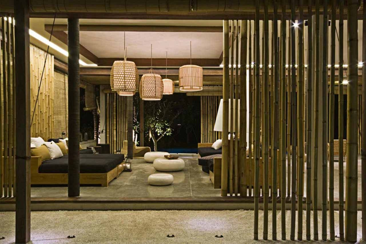 decor:bamboo sticks material natural bedroom design bamboo