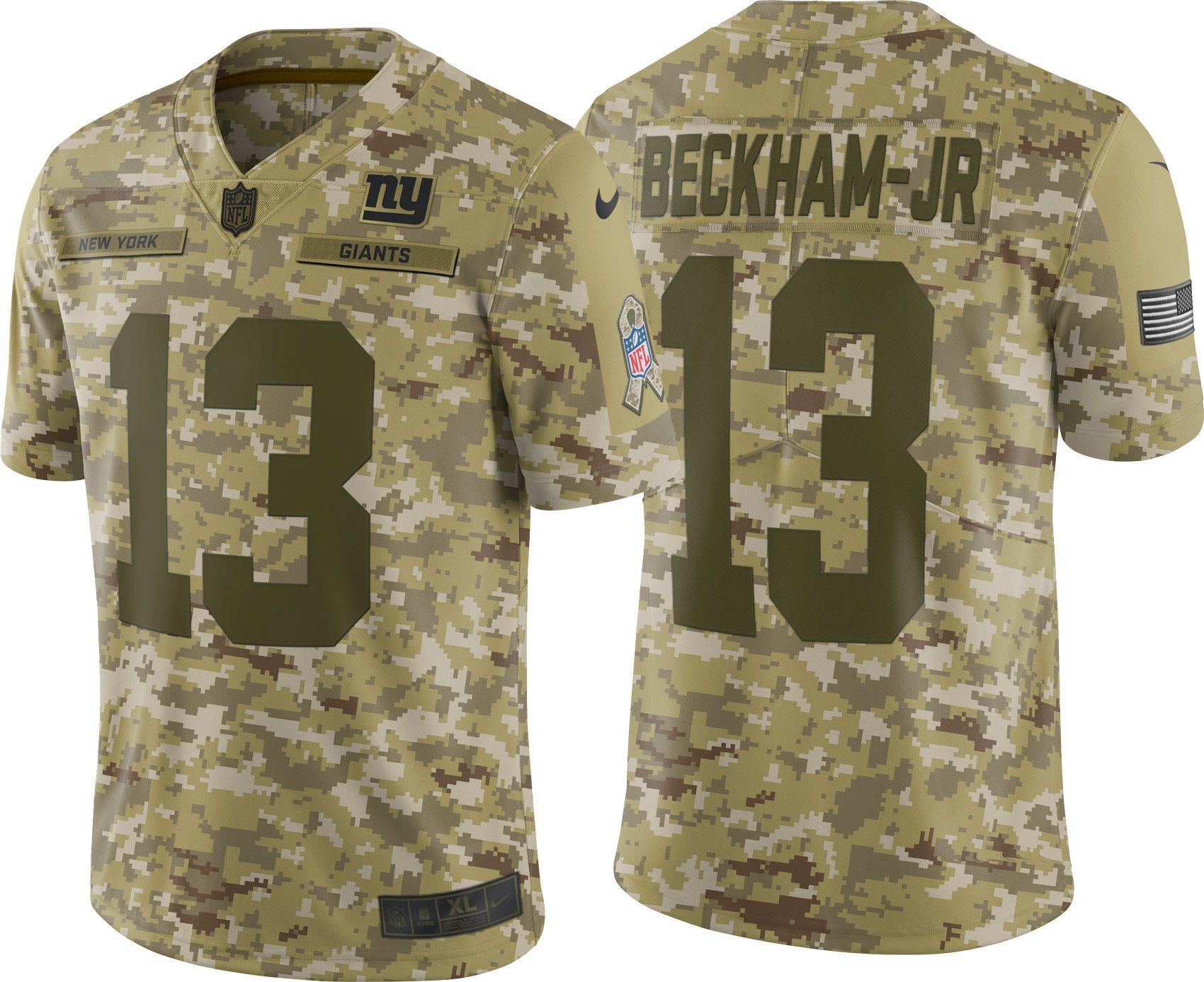 super popular 3541b db490 Nike Men's Salute to Service New York Odell Beckham Jr. 13 ...
