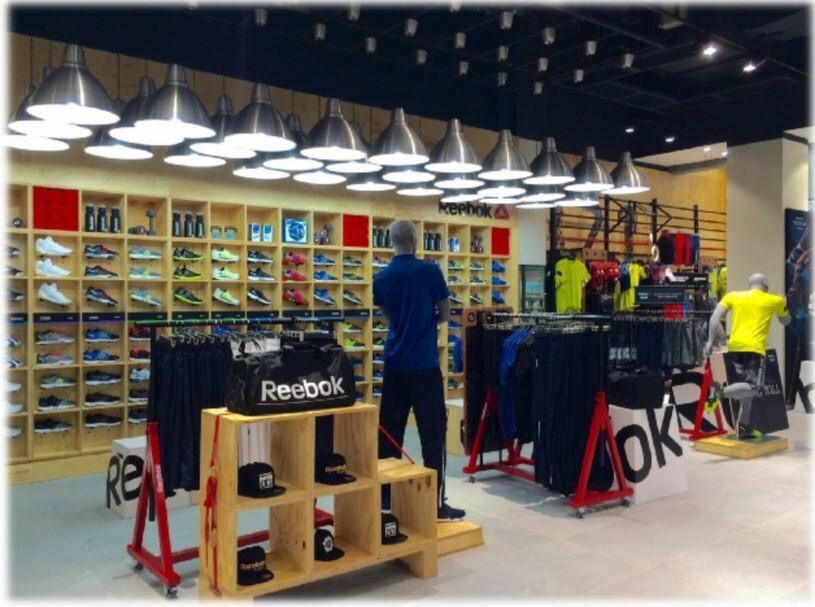 The Reebokmena Store We Planned For Mirdif City Centre Dubai Is Now Open Retail Storeplanning Storedesign Vm Visualmerchandising