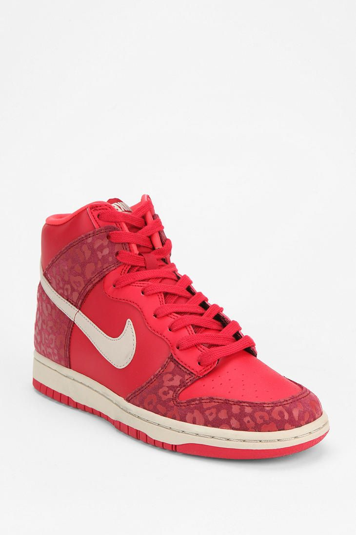 newest 26aec e960f ... 82 - Nike Animal Print Dunk High-Top Sneaker UrbanOutfitters ...