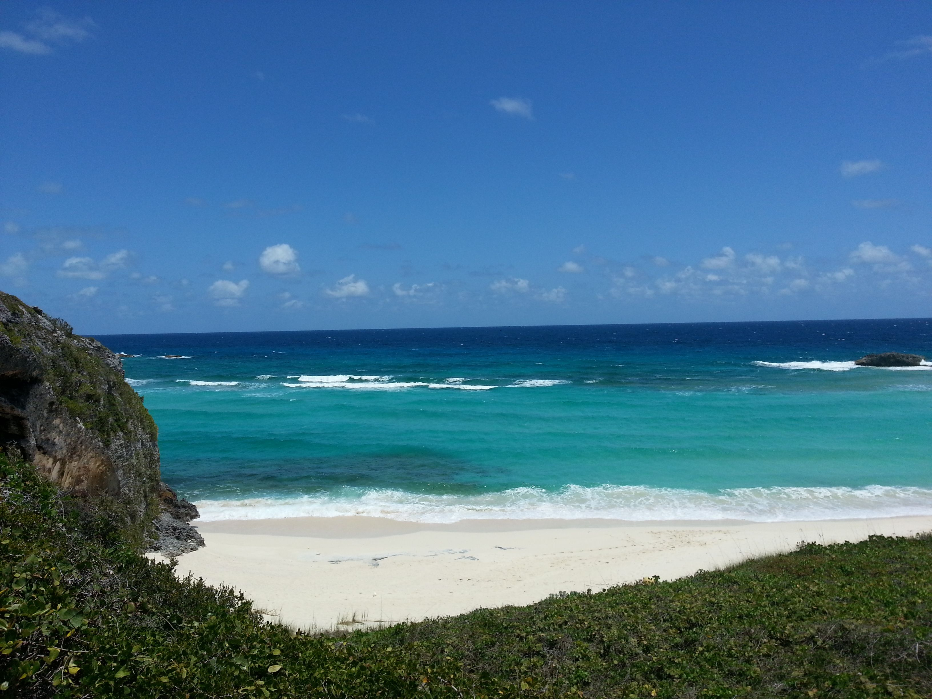 North Caico's Mudjlin Bay.   (Turks & Caico's)