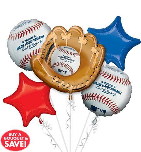 MLB Rawlings Baseball Party Supplies Decorations