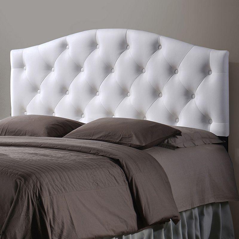 Baxton Studio Myra Faux Leather Upholstered Queen Headboard
