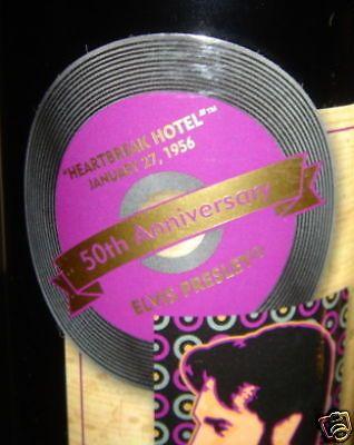 2003 Limited Edition Numbered Elvis Presley Wine Graceland Cellars Cabernet 3a3ce8047a97