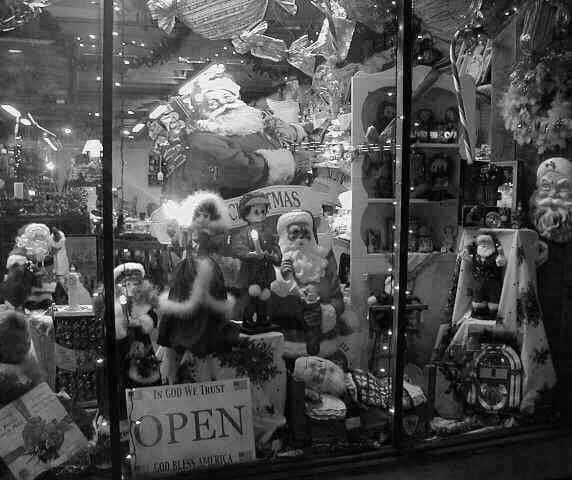 Texas shop windoe 1961