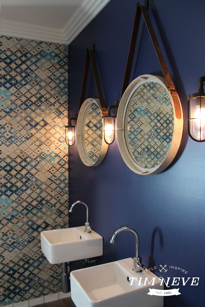 nautical inspired interior design by stylist tim neve for the beach