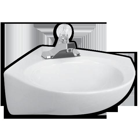 Cornice Wall Hung Lavatory Shown In 020 Wall Mounted Bathroom Sinks American Standard Sink