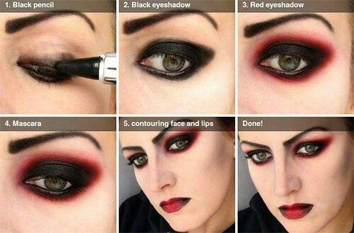 Vampire Eye Makeup Tutorial Halloween Makeup Vampire Makeup Tutorial Vampire Makeup