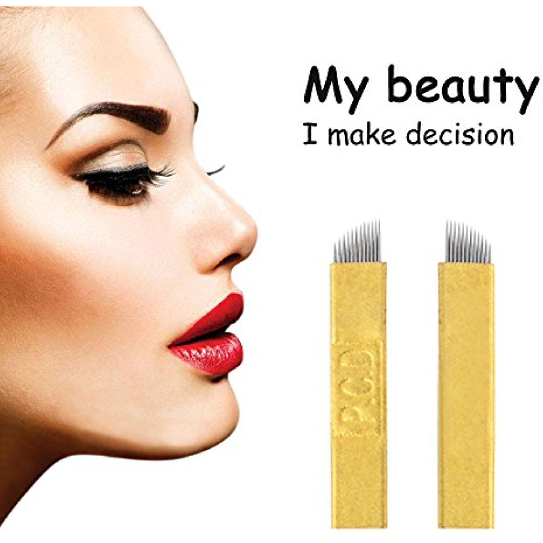 Atomus Microblading Needles 50pcs Permanent Makeup