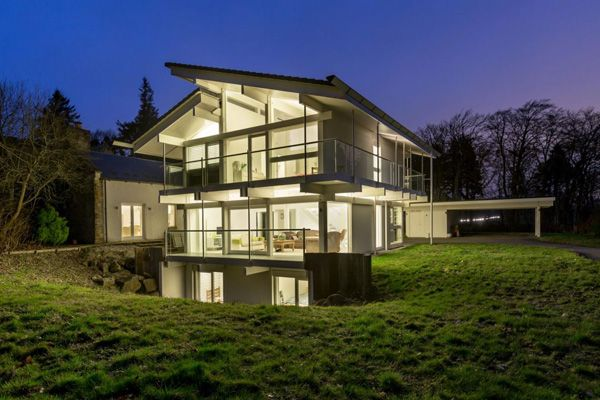 Huf Haus For Sale Five Bedroom Property In West Linton Near