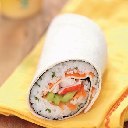 california sushi wrap recipe spoonful omit the imitation crab or sub avocado to make it