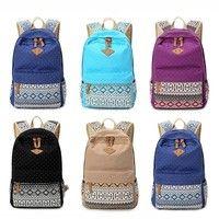Wish | Women Girl Canvas Shoulder School Bag Backpack Travel Satchel Rucksack Handbag