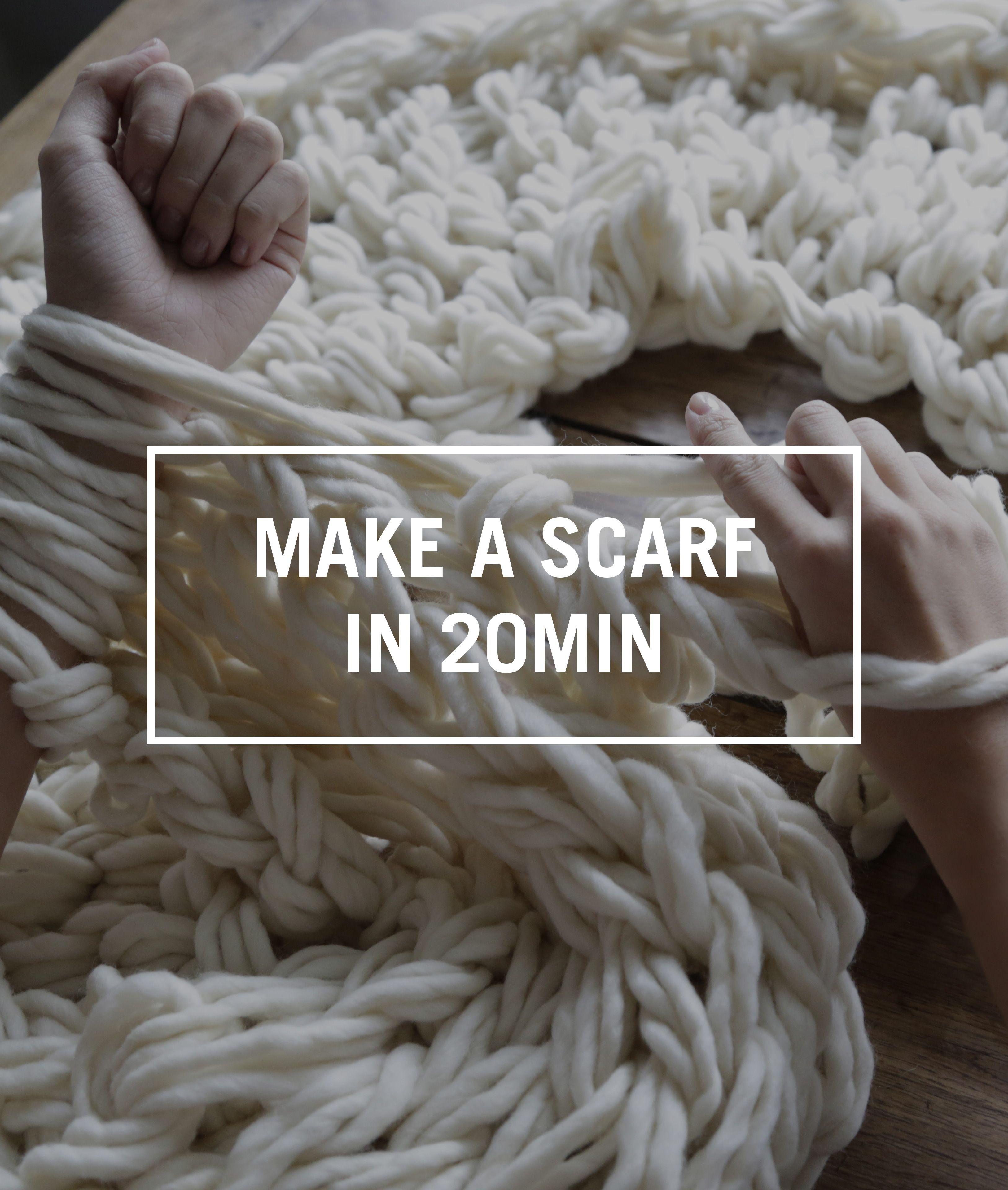 Learn to Knit Your First Scarf - v e r y p i n k . c o m ...