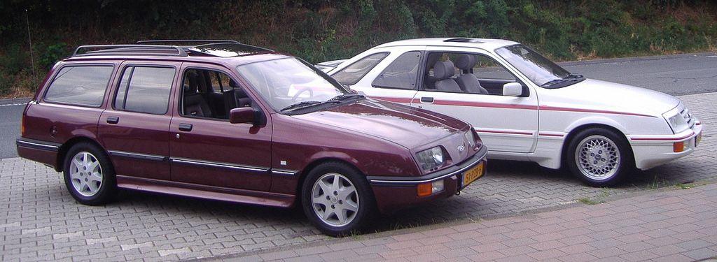 Ford Sierra Xr4i Turbo En Xr4i Ams Turnier Ford Sierra Car Ford British Cars