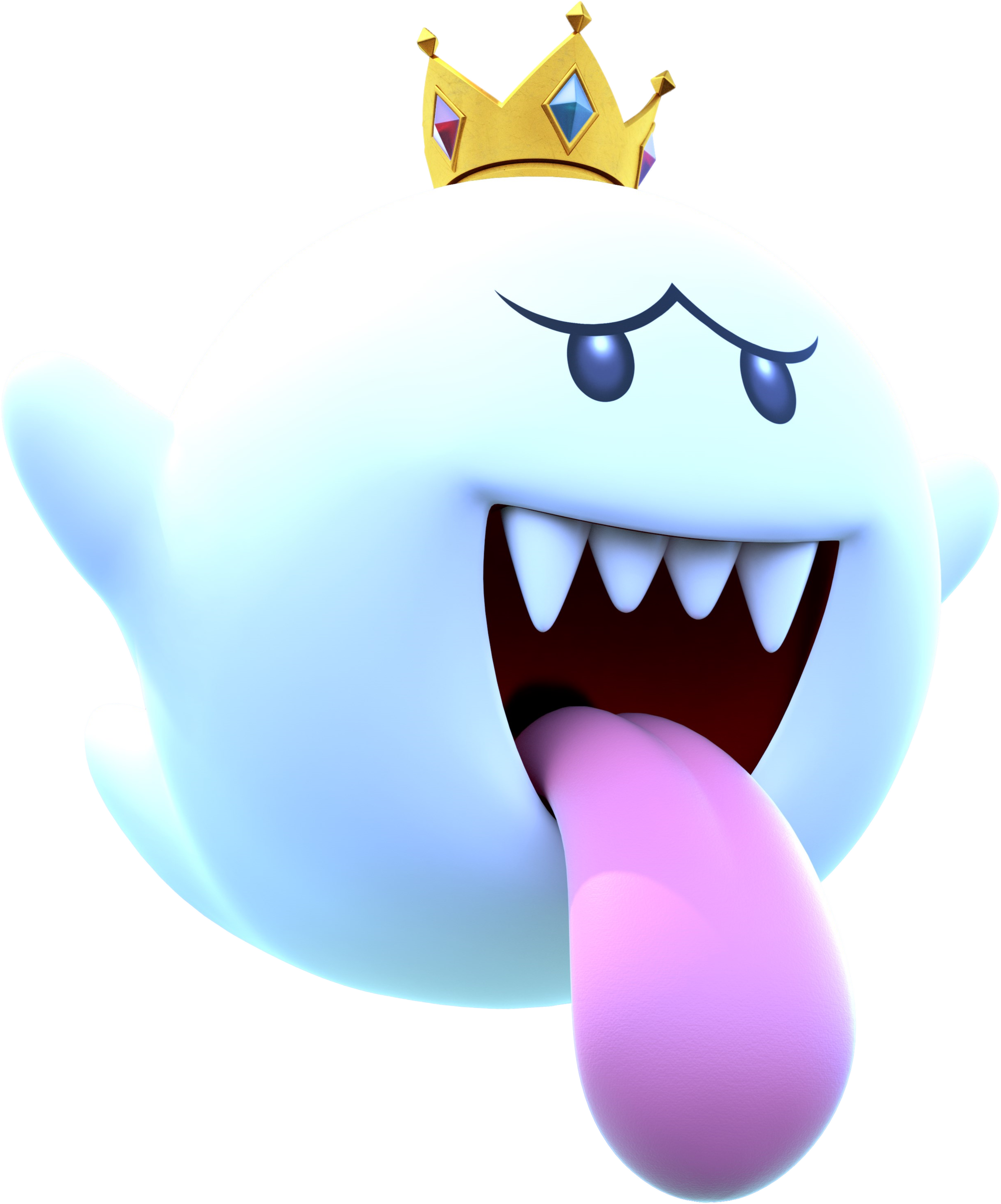 King Boo Is The Leader And King Of The Boos And The Arch Enemy Of Luigi He First Appears In Luigi S Mansion As The M King Boo Luigi S Mansion Super Smash
