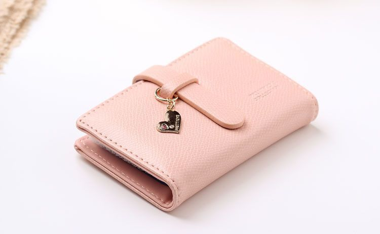 The new women cute cartoon hearts more screens card bag student card holder the credit card