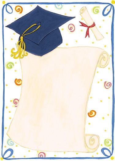 Álbuns da web do Picasa MARGENES COLORIDOS Pinterest Clip art - graduation border templates free