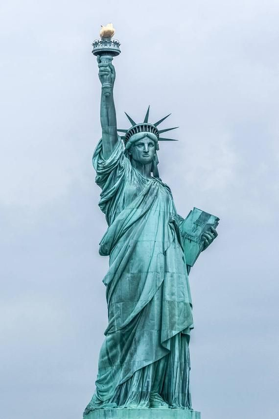 Statue Of Liberty New York Photography Statue Of Liberty On Etsy New York Art Statue Lady Liberty